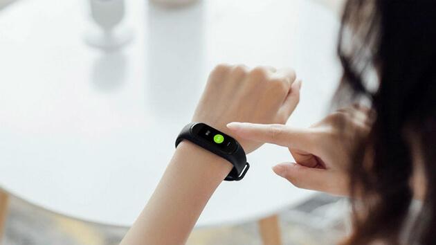 Xiaomi Hey + Smart Band с OLED дисплеем, поддержкой NFC